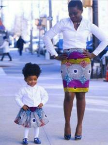 she is too cute... like mother like daughter