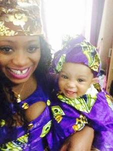 like mother like daughter.. her smile is precious