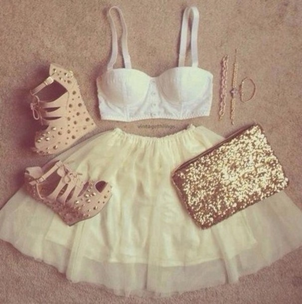 Stwoae l 610610 skirt tumblrclothes girlyoutfit gold studs heels stwoae l 610610 skirt tumblrclothes girly outfit gold studs heels whitebra cute summer perfect party tumblr tumblr girl tumblroutfit girly girlyoutfits voltagebd Image collections